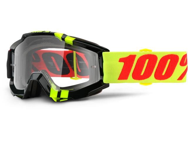 100% Accuri Goggle Anti Fog Clear Lens / Zerbo